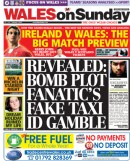 Revealed: Bomb plot fanatic's fake taxi ID gamble - Wales on Sunday